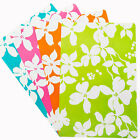 4 Pcs PVC Floral Print Style Dining Table Setting Mats Cup Placemats # 4Color