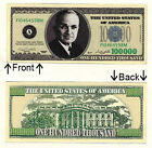 One Hundred Thousand Casino Dollar Novelty Bill Notes 1 5 25 50 100 500 or 1000