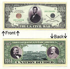 1861-1865 Civil War Lincoln Novelty Bill Notes 1 5 25 50 100 500 or 1000