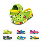 New Unisex Kids Summer 1crocband Mickey Mouse clogs shoes multi color and size