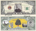 1912 U.S.A. State of New Mexico NM Novelty Notes Bills 1 5 25 50 100 500 or 1000