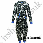 KIDS GIRLS BOYS EXTRA SOFT SMALL SKULL & CROSS BONE Onesie ALL IN ONE JUMPSUIT