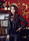 Fashion Ladies Ladies Slim Fit Faux Leather Motorcycle Jacket Coats Outerwear