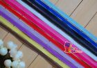"5/8"" (U pick) Silver Edge Grosgrain Ribbon 4 Bow 5/20/50Yds Craft Xmas 12 colors"
