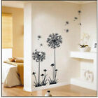 Hot Sale Decor Dandelion Fly Mural Removable Decal Room Wall Art Sticker  Vinyl