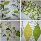 Lime Green Placemats 4 Funky Retro Fabric  Mats Multi Choice Listing Mix Match