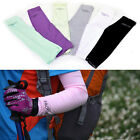 1 Pair Arm Sleeves Warmers Sun UV Protection Cycling Golf Bike Bicycle Running