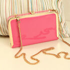Women Clutch Handbag Evening Chain Messenger Bag Bridal Wedding Box Purse Gift