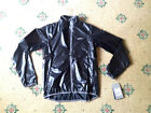 asics jacket shiny wet look glanz nylon running cal surf S/M/L