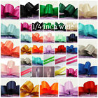 "Внешний вид -  SATIN  ribbon 1/4 ""  inch wide -select color price for 15 yard"