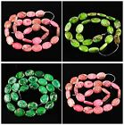 Multi-Color Variscite ellipse loose beads,more size to select gemstone wholesale