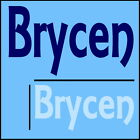 Brycen Boys Name Wall Sticker -18x40cm Interior Home Vinyl Decal Decor Sign