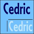 Cedric Boys Name Wall Sticker -18x40cm Interior Home Vinyl Decal Decor Sign