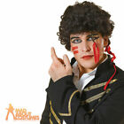 Adam Ant Wig 80s New Romantic Mens Pop Star Fancy Dress Costume New