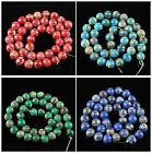 0.4'' Gemstone Multi-Color Variscite ball loose beads 40pcs wholesale