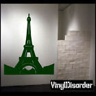 Paris Eiffel Tower Vinyl Wall Decal Or Car Sticker - pariseiffeltowerns001EY