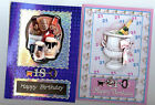 PERSONALISED18th 21st BIRTHDAY CARD KEY FEMALE MALE GRAND SON DAUGHTER NEPHEW