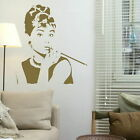 Audrey Hepburn Celebrity Wall Sticker Wall Vinyl Art Celeb Wall Transfer nic22