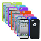 Soft Slim Gel Soft TPU Silicone Rubber Case Cover Skin For Apple iPhone 5 5s