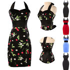 ~HOT SELL~Vintage 1950s Rockabilly Pinup Swing Retro Dress Evening Gown Cocktail