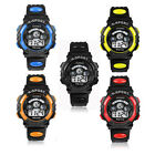 Waterproof Children Boy Digital Led Quartz Alarm Date Sports Wrist Watch Cheap