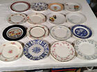 Vintage China Porcelain Ironstone Dinner Plates Various Sizes Patterns Potteries