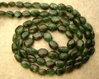 PRECIOUS Rich EMERALD 6-6.5mmX4-4.5mm OVAL beads Select-A-Size