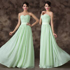So Sweetheart Strapless Bridesmaid Wedding Evening Prom Dress Pageant Ball Gown