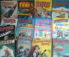 COLLECTABLE VINTAGE & RETRO ANNUALS, BOOKS & WARTIME MAGAZINES  chose from menu
