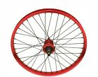 """BICYCLE 20"""" ALLOY FRONT/REAR WHEEL SEALED BEARING SILBER BLACK BLUE RED WHITE"""