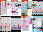 """VOILE DISNEY NET CURTAINS PRINCESS AND TINKERBELL - 6 PATTERNS 59""""X63"""""""