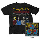 CHEAP TRICK T-Shirt World Tour 1978 New Officially Licensed S-2XL image