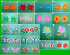 Iron On Leaves Flower Butterfly Aplique Embroidered Patches Badges Many Choice
