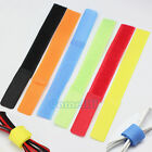 100PCS Self Adhesive Hook&Loop Fastener Tape velcro Cable Tie Wire Cord Strap
