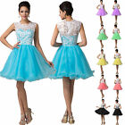 2015 Short Graduation Bridesmaid Formal Evening Party Prom Dress Gown Size 6-20