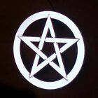 Glowing Pentacle Made From EL Tape = £5.99 - Neon Pentagram for Cyber-Occultist