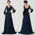 Grace Karin Long Evening Dress Prom Party Masquerade Dress UK 6 8 10 12 14 16 ++