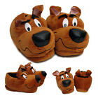 New Men Dog Novelty Slipper Funny Mules Scooby Brown Slippers Shoes UK Size 7-12