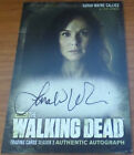 The Walking Dead A12 Lori Grimes Auto M8 Irone Singleton Costume Card Season 3