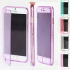 """New Flip Soft TPU Silicone Thin Clear Case Cover For iphone 6 4.7"""" Plus 5.5"""""""
