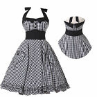 NEW STYLE 50s 60s VINTAGE PINUP RETRO SWING EVENING PROM PARTY DRESS