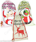 The Muppets or Vintage Christmas Sack Kermit Miss Piggy Victorian Cotton Xmas