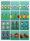 Small Iron-on Embroidered Kids Cartoon Appliqué Child Boy Girl Badge /Patch