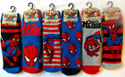 SPIDERMAN - Boy's Character Slipper Socks with Grippers