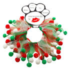 Party Christmas Pom Poms Pet Dog Collar