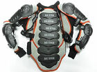 MOTOCROSS ENDURO QUAD OFF ROAD XTRM X1 ADULT BODY ARMOUR BLK/GREY/RED CE ARMOUR