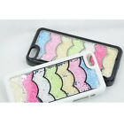 2013 New Casual Water Ripple Bling Rainbow Element Crystal Cover Case iPhone AB