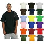 PRO CLUB MEN'S BLANK SOLID HEAVY WEIGHT SHORT SLEEVE T-SHIRT