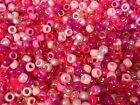 100 or 500 Mixed Pink Pony Beads,IDEAL FOR DUMMY CLIPS,HAIR BRADING (PB9M-PIN)
