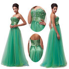 XMAS GLITTER Sequins Bridesmaid Formal Evening Prom HOMECOMING Party Maxi Dress